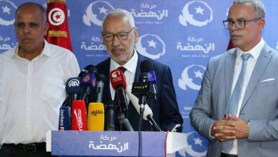 صورة خلافات وانقسام داخل حركة النهضة التونسية من أجل قيادة الحكومة