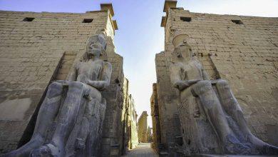صورة تصوير فيلم عالمي في الأقصر بمصر أكتوبر 2020