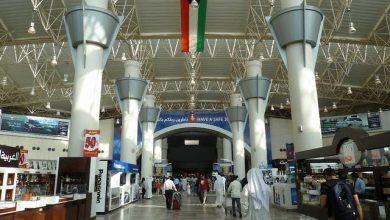 صورة عودة حركة الملاحة الجوية في مطار الكويت إلى طبيعتها