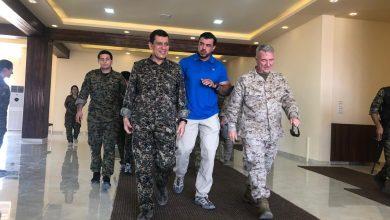 """صورة قائد """"سوريا الديمقراطية"""" يشيد بدور ترامب في محاربة """"داعش"""""""