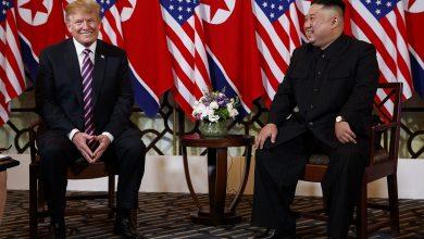 صورة ترامب يطالب زعيم كوريا الشمالية بسرعة العمل من أجل الاتفاق