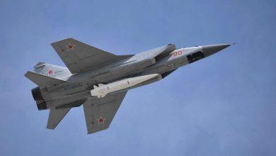 """روسيا تختبر صاروخ """"الخنجر"""" فائق السرعة في القطب الشمالي"""