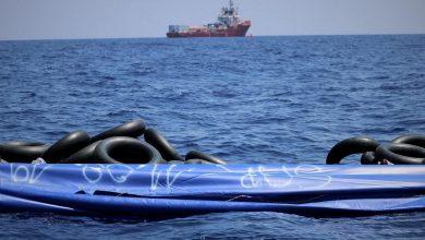 """صورة """"أوشن فايكنج"""" تنقذ 60 مهاجرًا قبالة السواحل الليبية"""