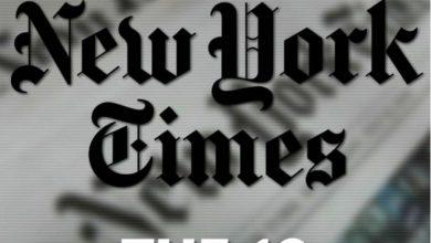 """صورة """"نيويورك تايمز"""" تعلن عن قائمتها لأبرز 10 كتب في عام 2019"""