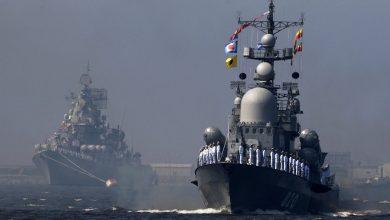 صورة أمريكا تتابع المناورات البحرية بين روسيا وإيران والصين في بحر العرب