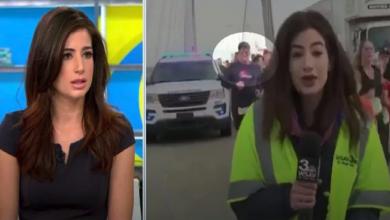 صورة ضبط أمريكي وجه ضربة جنسية تجاه مذيعة على الهواء (فيديو)
