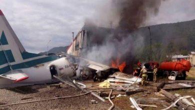 صورة مصرع 3 أشخاص إثر تحطم طائرة بولاية تكساس