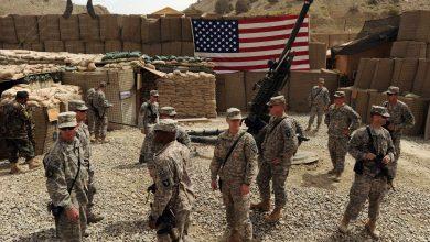 صورة انسحاب القوات الأمريكية من قاعدة إستراتيجية على حدود العراق