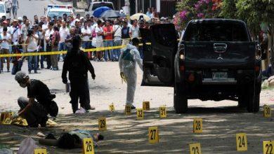 صورة 34 ألف ضحية لجرائم القتل في المكسيك العام الماضي
