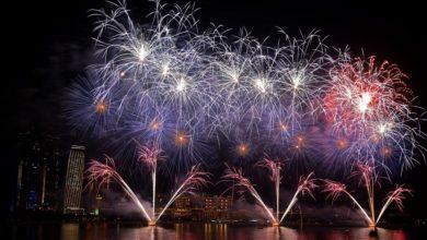 """صورة الإمارات تدخل """"جينيس"""" برقمين جديدين في ليلة رأس السنة"""