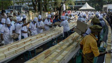 صورة الهند تصنع أكبر قالب حلوى في العالم