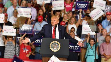 صورة ترامب ينتظر البراءة غدًا.. وشعبيته عند أعلى مستوى منذ انتخابه