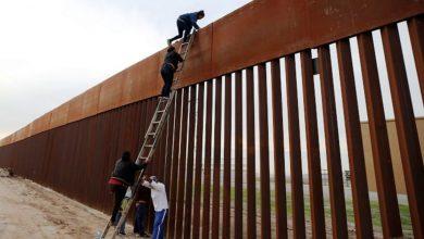 صورة سلم بـ 5 دولارات يهزم جدار ترامب الذي تكلف مليارات!