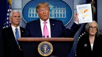 """صورة ترامب يؤكد أن أمريكا مستعدة """"تمامًا"""" لمكافحة كورونا!"""