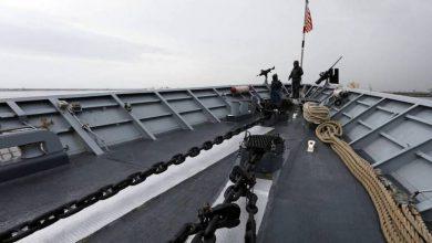 صورة إصابة بحار على متن سفينة حربية أمريكية بفيروس كورونا