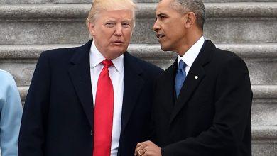 صورة بعد انتقاداته الحادة… هكذا رد ترامب على أوباما