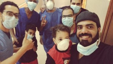 صورة شفاء أسرة مصرية كاملة من فيروس كورونا