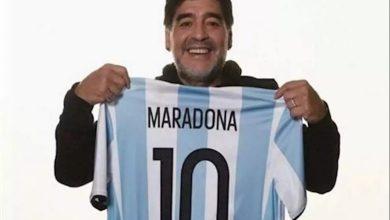 بيع قميص مارادونا بـ60 ألف دولار لمساعدة أهالي نابولي