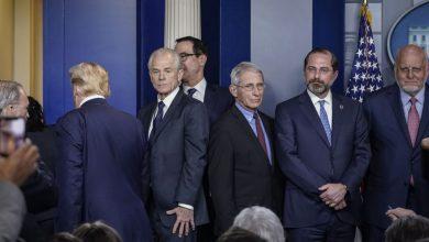 صورة خلاف حاد داخل البيت الأبيض بشأن دواء فيروس كورونا