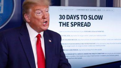 """صورة """"سي إن إن"""" تعرض قائمة أكاذيب ترامب حول وباء كورونا"""