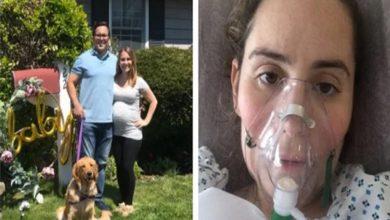 صورة أم مصابة بكورونا تروي تفاصيل تجربتها المؤلمة أثناء الحمل