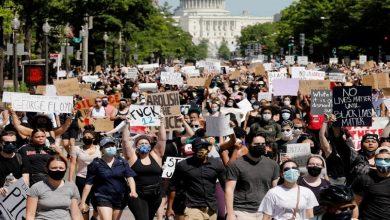 صورة هل تتسبب الاحتجاجات في موجة كورونا ثانية بأمريكا؟