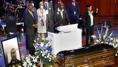 """بدء مراسم تأبين """"جورج فلويد"""" في مينيابوليس"""