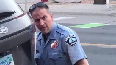 منع ضباط الأقليات من حراسة ديريك تشوفين