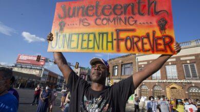 صورة احتفال مختلف بذكرى نهاية العبودية.. ومطالب بعطلة وطنية