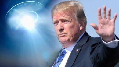صورة ترامب يعتزم الكشف عن معلومات سرية حول الأطباق الطائرة قريبًا