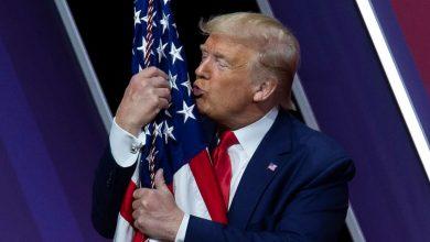 صورة ترامب يفتخر: أنا أفضل رئيس للسود في أمريكا بعد أبراهام لينكولن