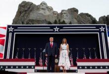 صورة ترامب ينتقد المحتجين ويؤكد: نحن البلد الأكثر عدلًا على وجه الأرض