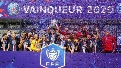 """صورة """"باريس سان جيرمان"""" بطلًا لكأس فرنسا للمرة الـ 13 في تاريخه"""