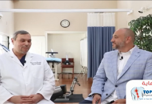 صورة خاص وحصري- فن وأسرار العلاج الطبيعي مع الدكتور محمد فرح حسين