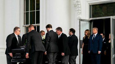 صورة لأول مرة منذ 1963.. البيت الأبيض يستقبل جنازة شقيق الرئيس