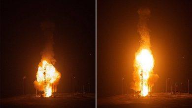 صورة سلاح الجو يعلن نجاح اختبار صاروخ عابر للقارات بـ 3 رؤوس حربية