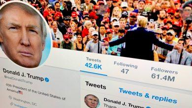 """صورة ترامب يطلب من المحكمة العليا السماح له بحظر مُعارضيه على """"تويتر""""!"""