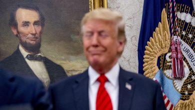 """صورة بعد موافقته رسميًا على الترشح.. ترامب يشبه نفسه بـ""""لينكولن"""""""