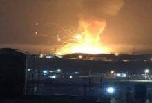 صورة انفجار كبير يهز الأردن وحريق جديد بمرفأ بيروت