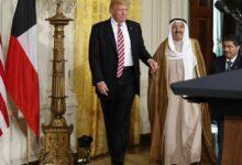 صورة ترامب يمنح أمير الكويت وسامًا حصل عليه 11 رئيسًا فقط