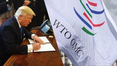 صورة ترامب يهدد منظمة التجارة العالمية بعد حكمها لصالح الصين