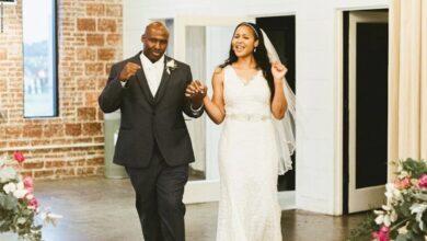 """صورة نجمة كرة السلة """"مايا مور"""" تتزوج من رجل حررته من السجن"""