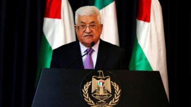 قرار جرئ للرئيس الفلسطيني ردًا على التطبيع