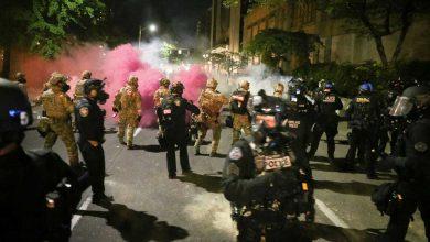 صورة اعتقالات في بورتلاند بعد تجدد الاشتباكات بين المحتجين والشرطة
