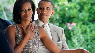صورة أوباما وزوجته الأكثر إثارة للإعجاب علي مستوي العالم