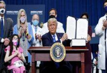 صورة للوفاء بوعده الانتخابي منذ 2016.. ترامب يوقع على قانون الرعاية الصحية