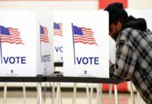 صورة ناخبو مينيسوتا يصوتون مبكرًا قبل زيارة بايدن وترامب لولايتهما