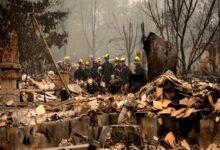 صورة دخان حرائق الغابات يصل أوروبا وترامب يعلن أوريجون منطقة كوارث