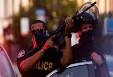 صورة توقيف 28 محتجًا في لويسفيل وإطلاق نار في أيوا