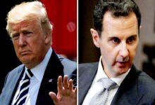 صورة ترامب يعترف: ناقشت تصفية بشار الأسد لكن وزير الدفاع رفض الفكرة